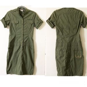 Aeronautica Militare ARMY Olive Green Dress Euro42